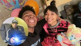 SURPRISED MY CRUSH FOR HER BIRTHDAY! + MET HER DAD (He Doesn't Like Me)