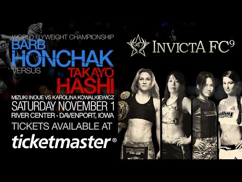 INVICTA FC 9 - WE ARE COMING, STEP BY STEP