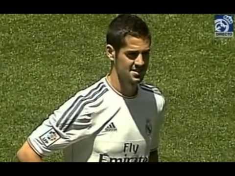 Presentacion de Isco como nuevo jugador del Real Madrid