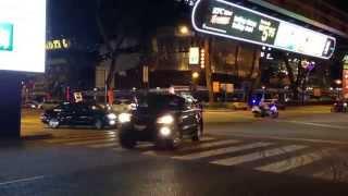 Indonesian President Jokowi motorcade in Kuala Lumpur