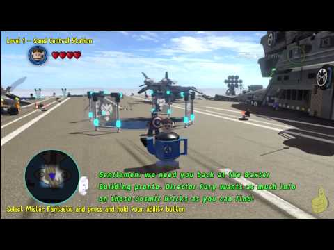 Lego Marvel Super Heroes: This Is Fantastic! Trophy/Achievement - HTG