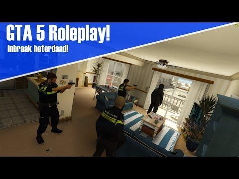 GTA 5 ROLEPLAY! - INBRAAK HETERDAAD [FiveM]