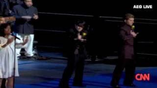 Jennifer Hudson Video - Jennifer Hudson - Will You Be There - Michael Jackson Memorial Tribute