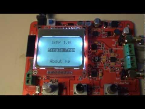 IEMP - Simple Arduino DDS Signal Generator