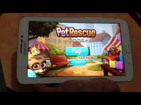 PET RESCUE SAGA:  NEW GAME APP EVERYDAY ON APP ZONE
