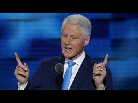 Full speech: Bill Clinton at the Democratic convention