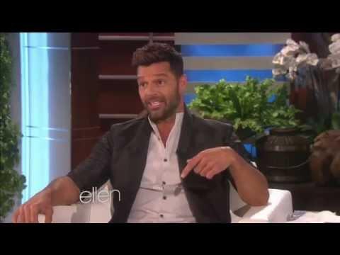 (FULL INTERVIEW) Ricky Martin on The Ellen Degeneres Show (Feb. 11, 2015)