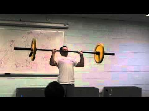 CrossFit - Shoulder Press, Push Press, and Push Jerk Demos Image 1
