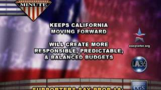 Proposition 1A - California - May 19 2009: State Budget
