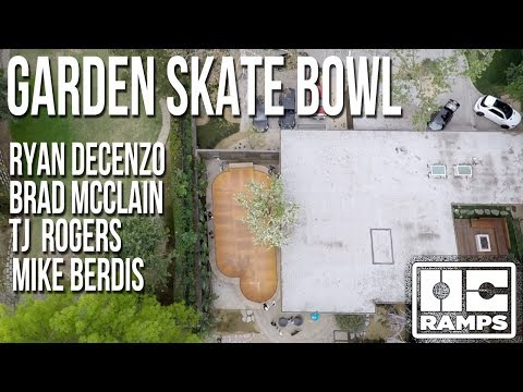 Skating the Garden Bowl