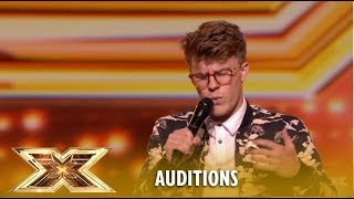 Nathan Grisdale Puts His OWN Spin On Andra Day´s Rise Up   The X Factor UK 2018