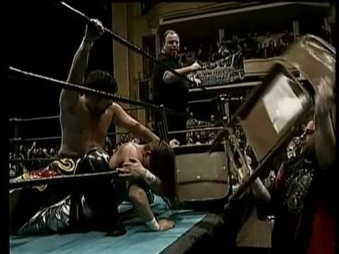 Mikey & Tajiri vs. Super Crazy & Kid Kash - ECW Massacre on 34th Street 2000 - WWXWCE