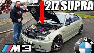 🐒  INSANE SUPRA 2JZ SWAPPED BMW! RACE SPEC E46 M3