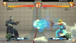 SSF4 AE CEO 2013 Grand Finals: Momochi (KEN) vs Xian (GEN)