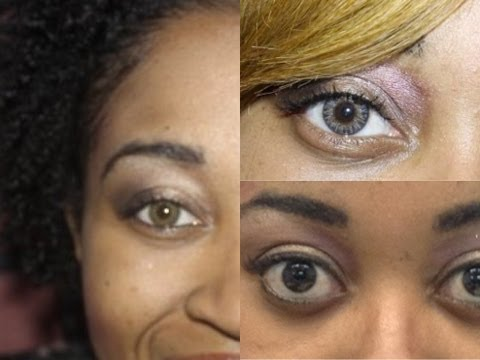 Comparing Freshlook Colorblends Grey.Green. Pure Hazel and Hazel Contacts (Updated) ★★★★★