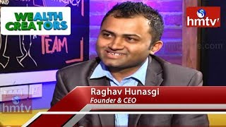 Thought Folks Founder and CEO Raghav Hunasgi Special Interview | Wealth Creators | hmtv News