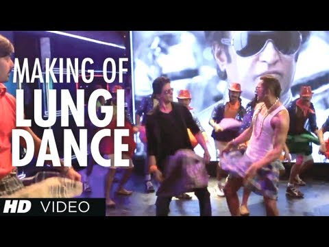 Lungi Dance Song Making (the Thalaiva Tribute) Feat. Honey Singh, Shahrukh Khan, Deepika Padukone video