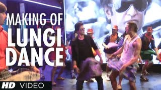 Lungi Dance Song Making The Thalaiva Tribute Feat Honey Singh Shahrukh Khan Deepika Padukone