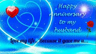 Recent Happy Anniversary wishes for husband/ whats app status