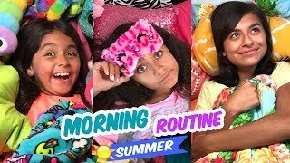 Morning Routine ☀️ Summer Edition - Lazy Summer // GEM Sisters