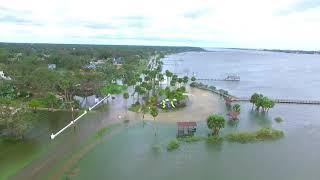 Aftermath of Irma in Daytona Beach