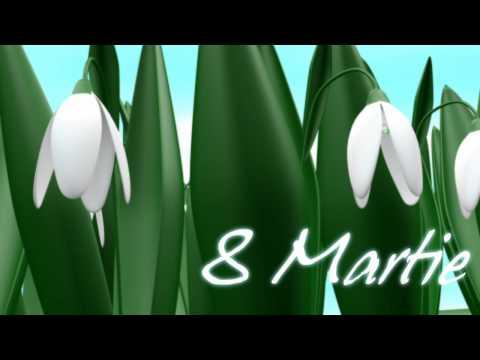 Felicitare de 8 Martie HD