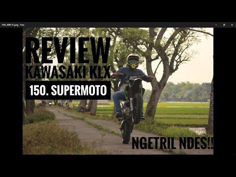 kawasaki klx 150s supermoto review // while #8