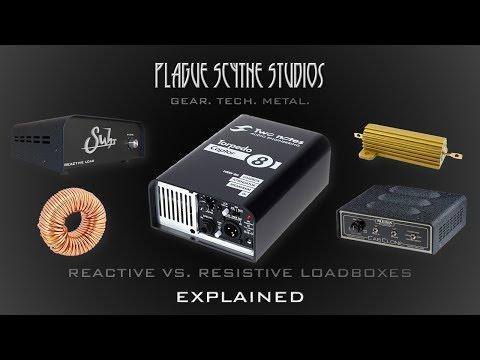 Amp Loadboxes: Reactive VS. Resistive - Explained