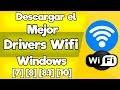 Descarga e Instala el mejor Driver Wifi Compatible con Windows 7/8/8.1/10 [2016 HD] mp3 indir