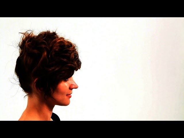 How to Do Messy Short Hairstyles, Part 1 | Short Hair Tutorial for Women