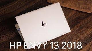 HP Envy 13 2018 – Thiết kế tinh tế, chip Kaby Lake R và có cả bảo mật vân tay