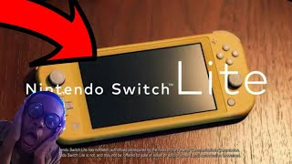 NERD REACTS TO NINTENDO SWITCH LITE?! IT'S FINALLY HERE! SPECS AND MORE..