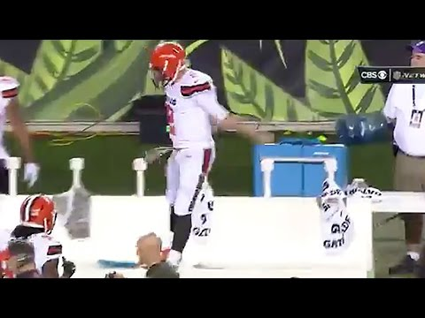 Johnny Manziel Combines Lebron James & Cristiano Ronaldo Celebrations After TD