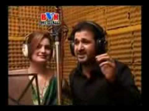 Rahim Shah   Ghazala Javed New Song- Zra Byalaley Pa Ta Dey video