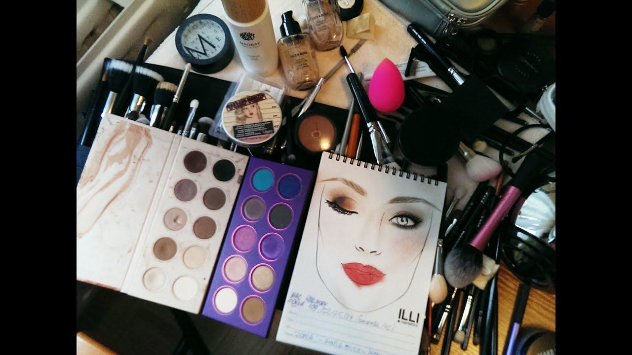 Время на макияж визажиста