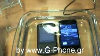 Iphone vs Htc - Water damage test!! Succesful repair for both of them after :)