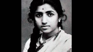 Aakash pradeep jwale / আকাশ প্রদীপ জ্বলে (১৯৫৬) ~ লতা মঙ্গেশকর