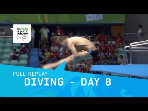 Diving - Day 8 -  Men's 3m Springboard Final | Full Replay | Nanjing 2014 Youth Olympic Games