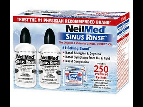 How to Perform the NEIL-MED SINUS Rinse - www.AFCvirden.com