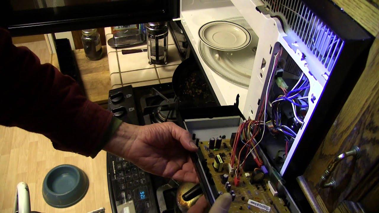 Fixing A Broken Samsung Microwave The Dreaded 5e Error