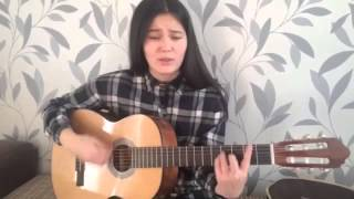 Duft Punk - Get lucky ( cover by Aknur Alshymbayeva)