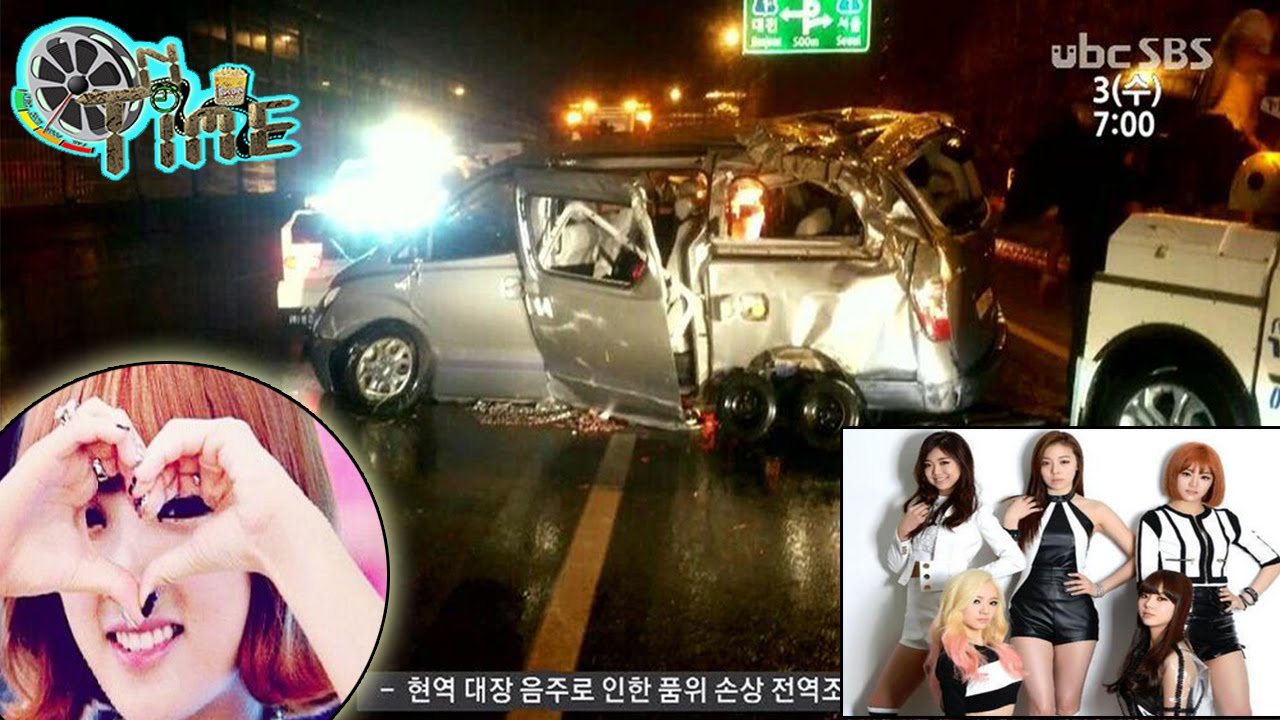Korean Kpop Group Car Accident