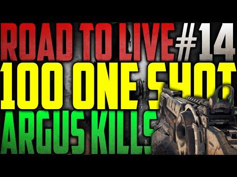 DIT IS NIET GOED! - 100 ONE SHOT ARGUS KILLS #14 (COD: Black Ops 3)