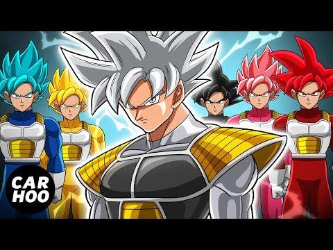 GOKU SAIYAN RANGERS 2 - THE ATTACK OF JIREN [ Dragon Ball Super Fan Animation ]