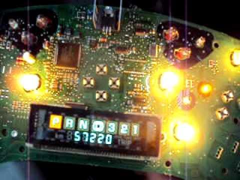 2001 Buick Century instrument cluster odometer repair