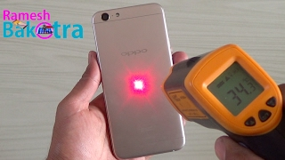 Oppo A57 Heating Test