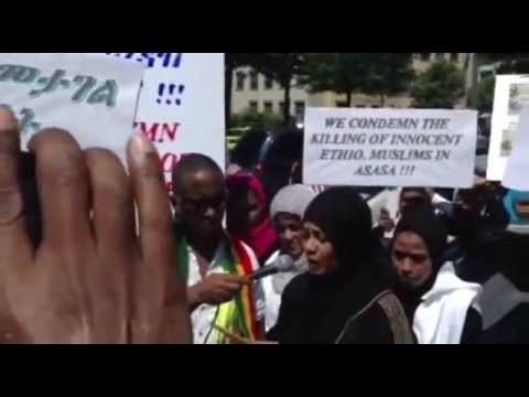 bilal tube - First Hijrah Community Demonstration Against Ethiopian Government in Washington DC