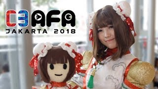 C3AFA Jakarta / AFAID 2018 Cosplay!