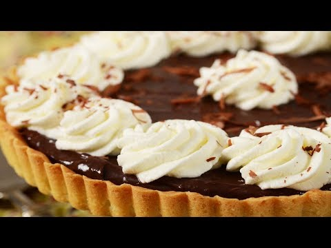 Chocolate Pie Recipe Demonstration - Joyofbaking.com