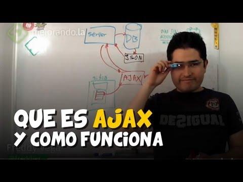 Qué es AJAX y como funciona